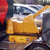 digger model on trailer